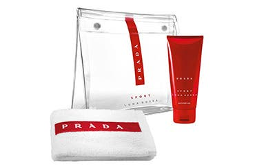 Prada men's fragrance gift with purchase.