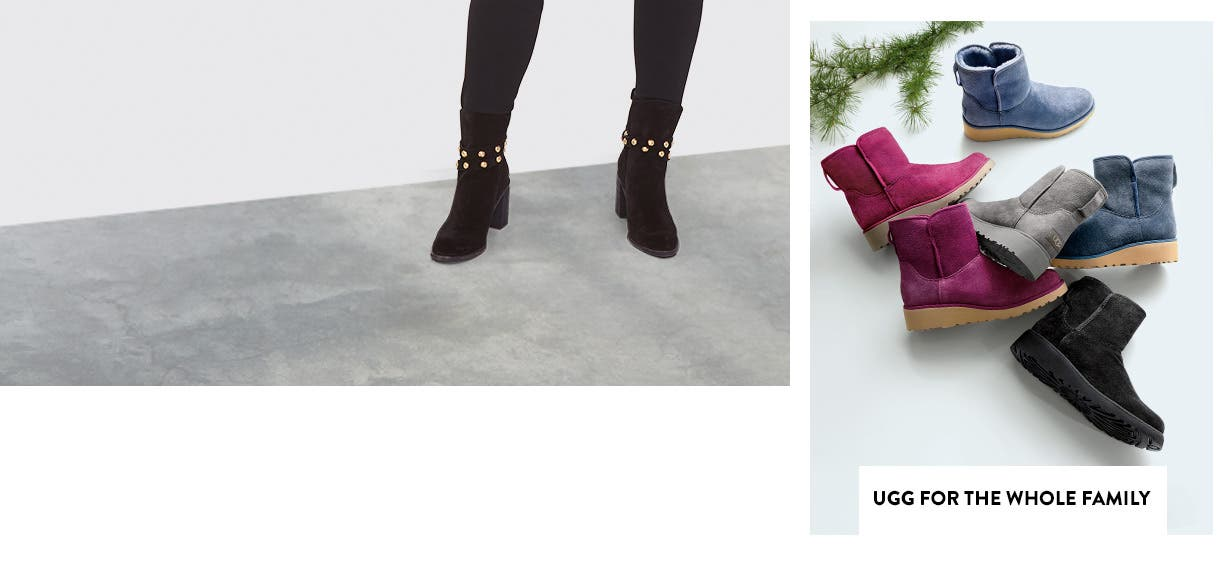 UGG presents for the whole family.