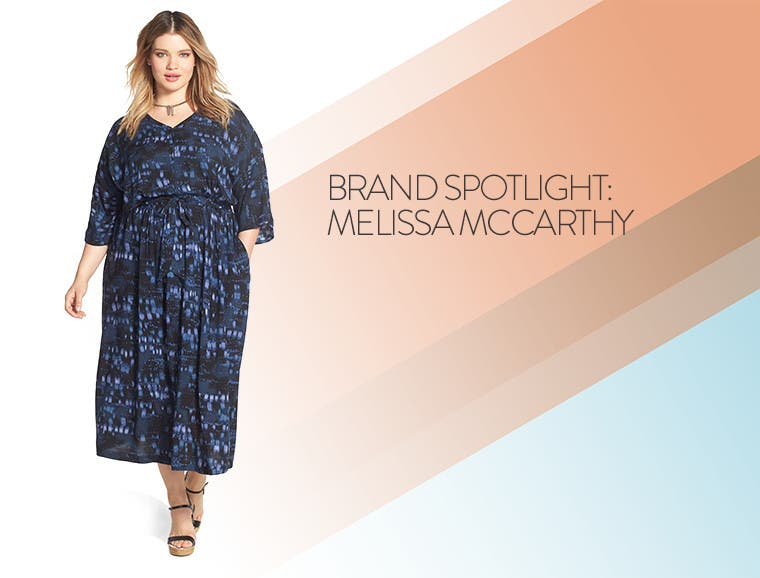 Brand spotlight: Melissa McCarthy plus-size women's clothing.