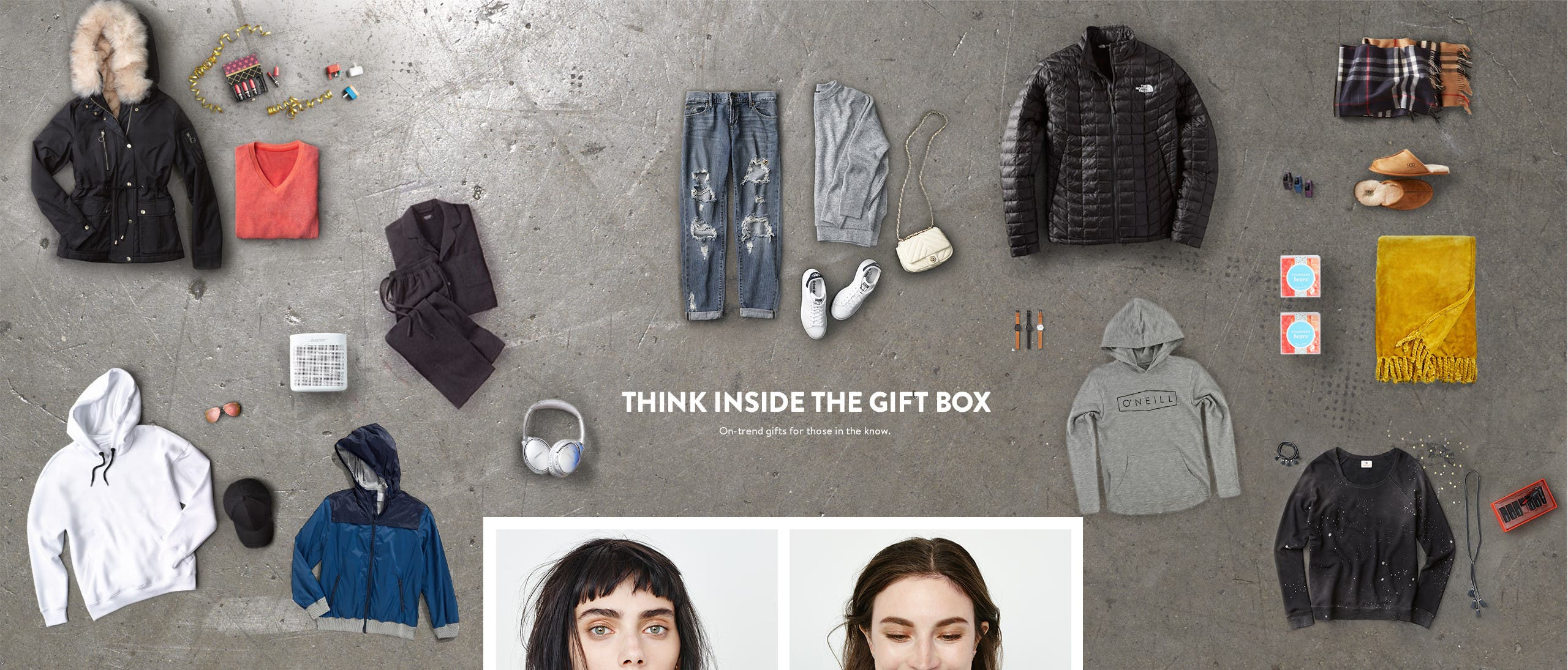 Think inside the gift box. Gifts for her, him and kids.