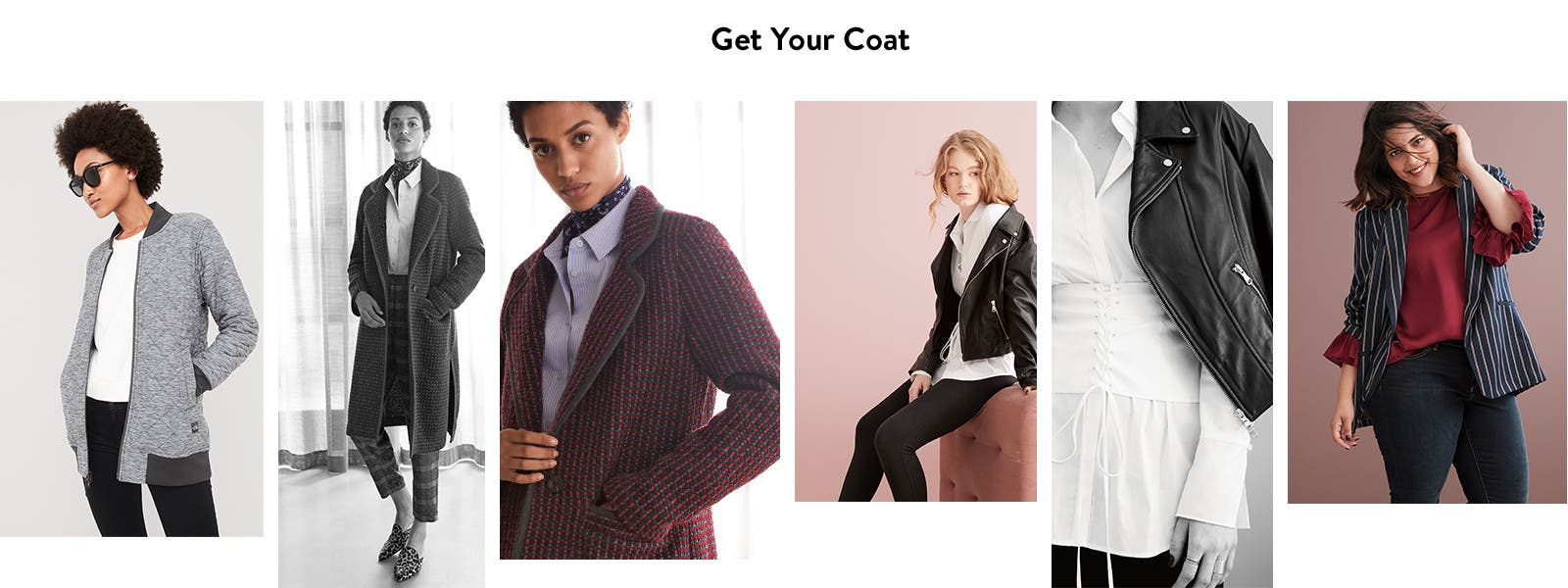 Get your coat: women's fall coats and jackets.