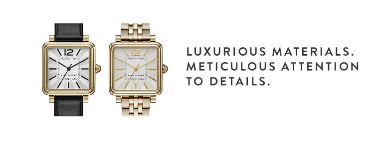 Luxurious materials. Meticulous attention to details.