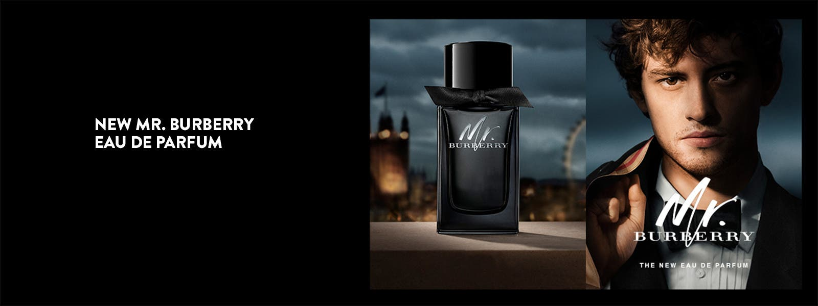 New Mr. Burberry Eau de Parfum.