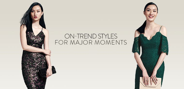 On-trend wedding-guest styles for major moments.