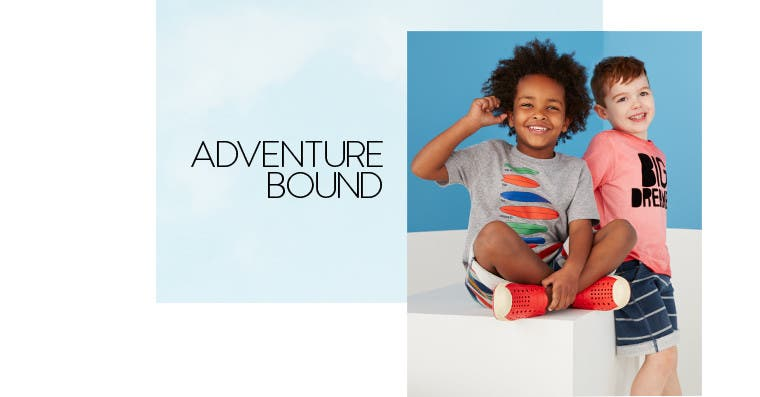 Adventure bound.