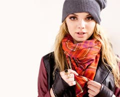 Check out the cinchiest scarf looks we're layering this fall—and then loop your own.