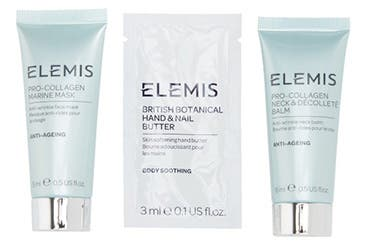 Receive a free 3-piece bonus gift with your $75 Elemis purchase