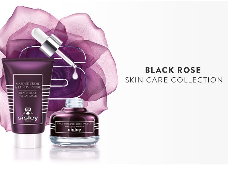 Sisley Paris Black Rose Skin Care Collection.