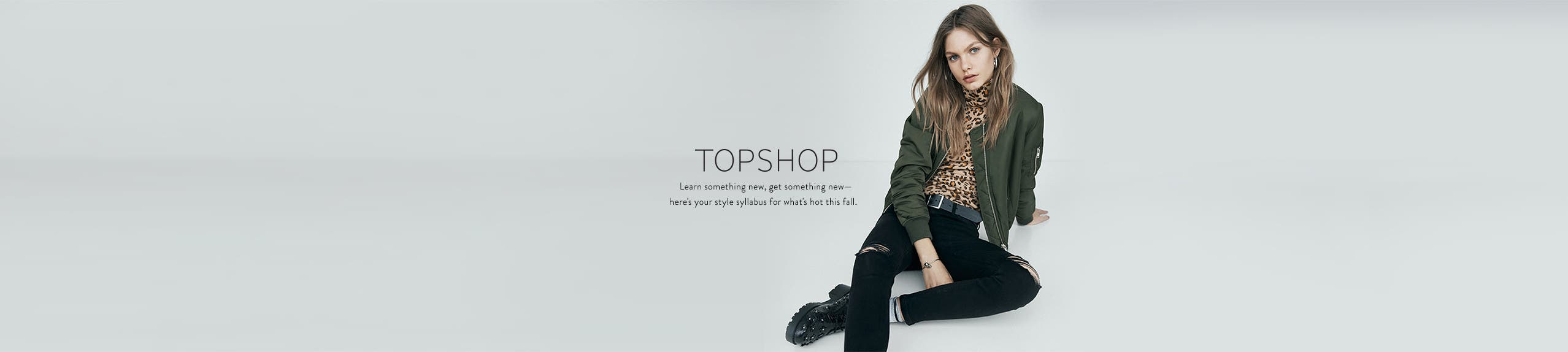 Topshop clothing, shoes and accessories at Anniversary Sale.