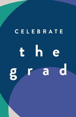 Celebrate the grad.