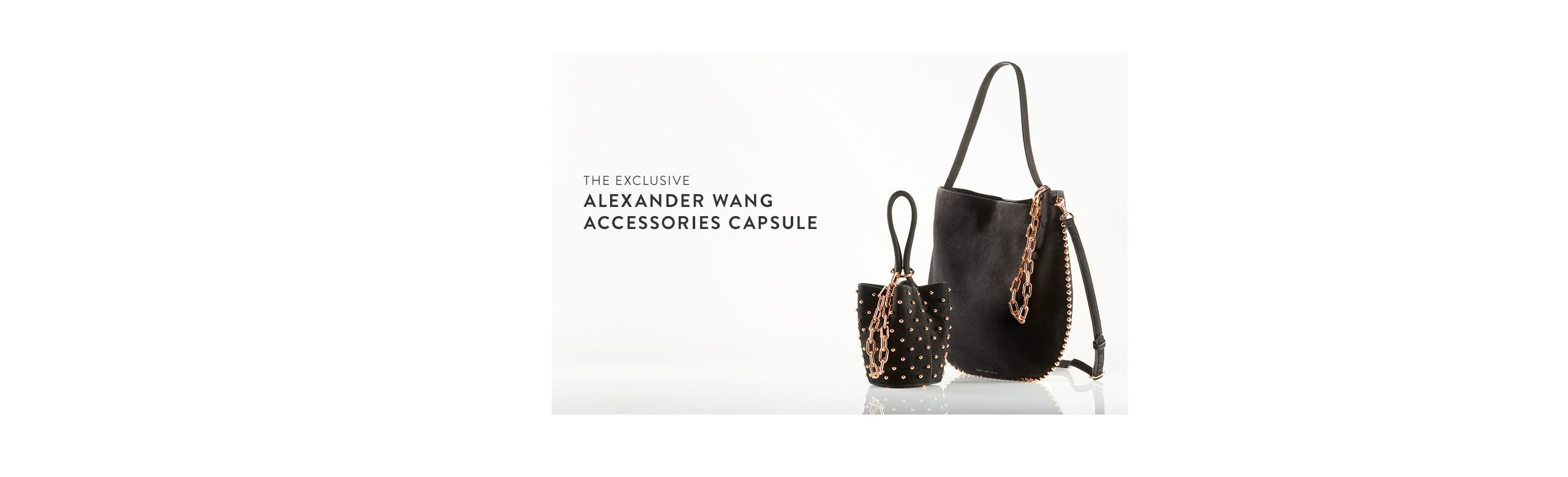 The Nordstrom-exclusive Alexander Wang rose gold capsule.