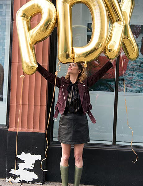 Portlandia's Costume Designer In Her City