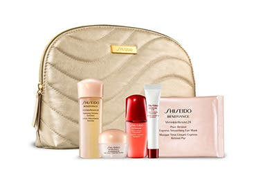 Receive a free -piece bonus gift with your $ Shiseido purchase & code