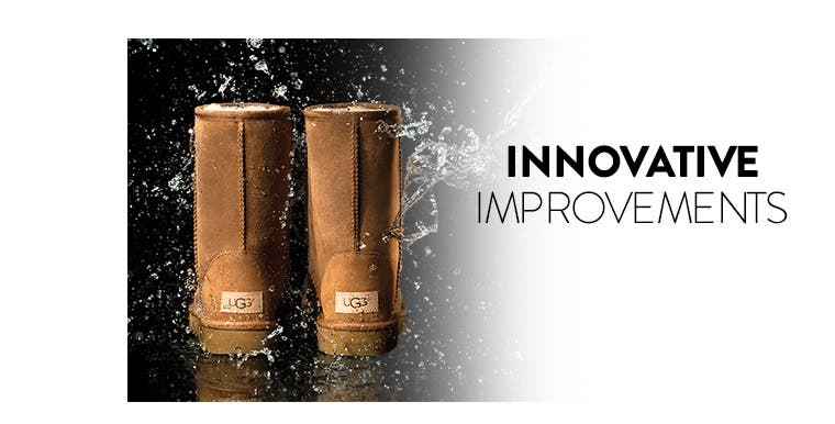 Innovative improvements. UGG boots for women.