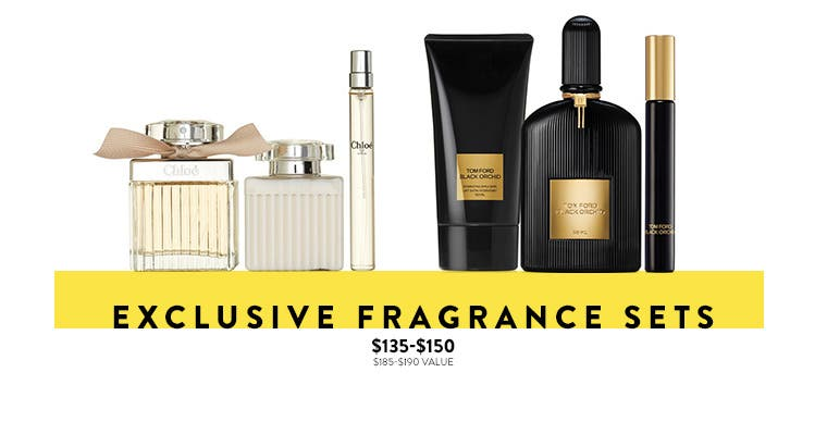 Anniversary Sale: exclusive fragrance sets.