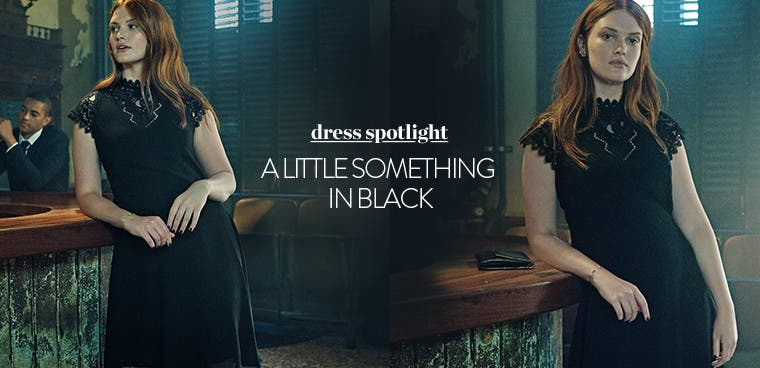 Dress spotlight: little black dresses.