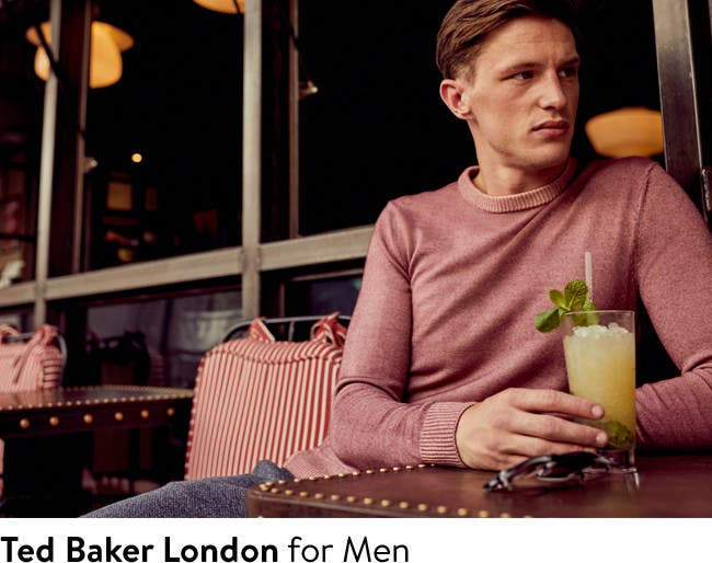 Ted Baker London for men: fall 2017.