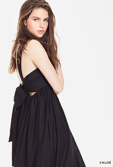 Designer new arrivals: Chloe prairie dress.
