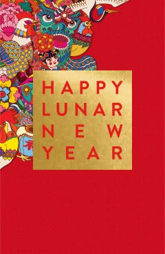 Wishing happiness, good fortune and longevity to all.
