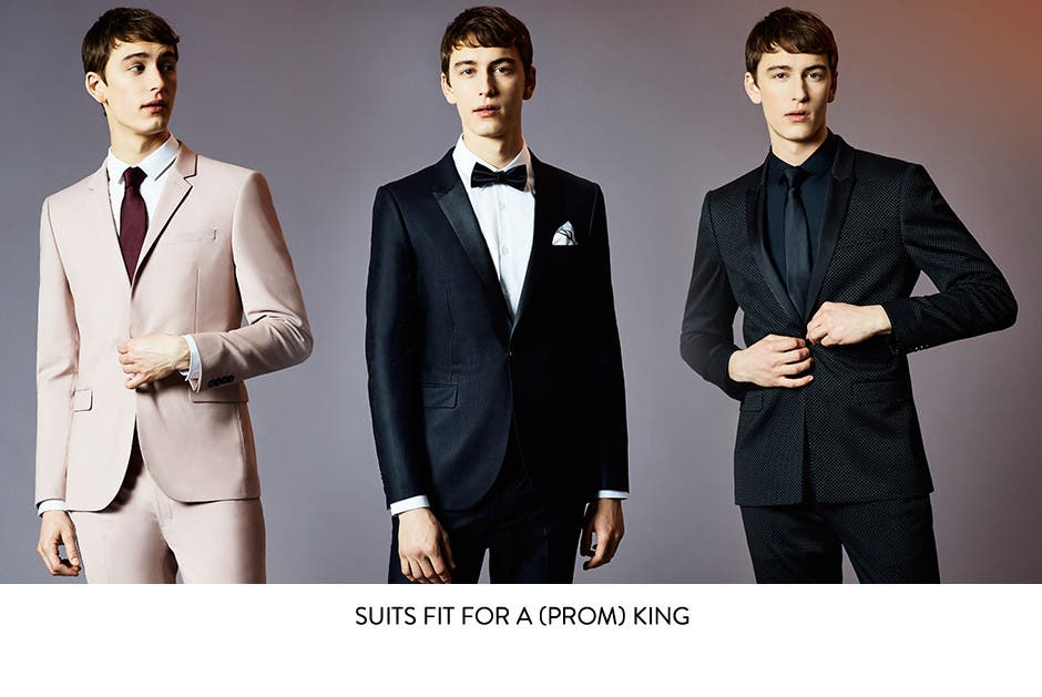 Suits fit for a prom king.