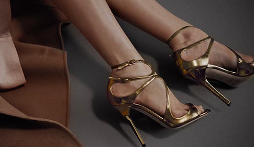 Watch the Jimmy Choo pre-fall 2016 video.