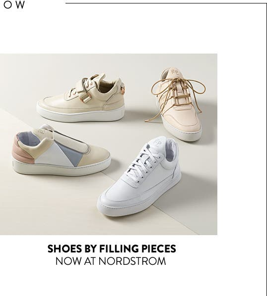 Shoes by Filling Pieces: now at Nordstrom.