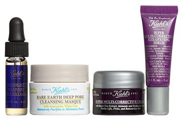 Receive a free 4-piece bonus gift with your $85 Kiehl's purchase