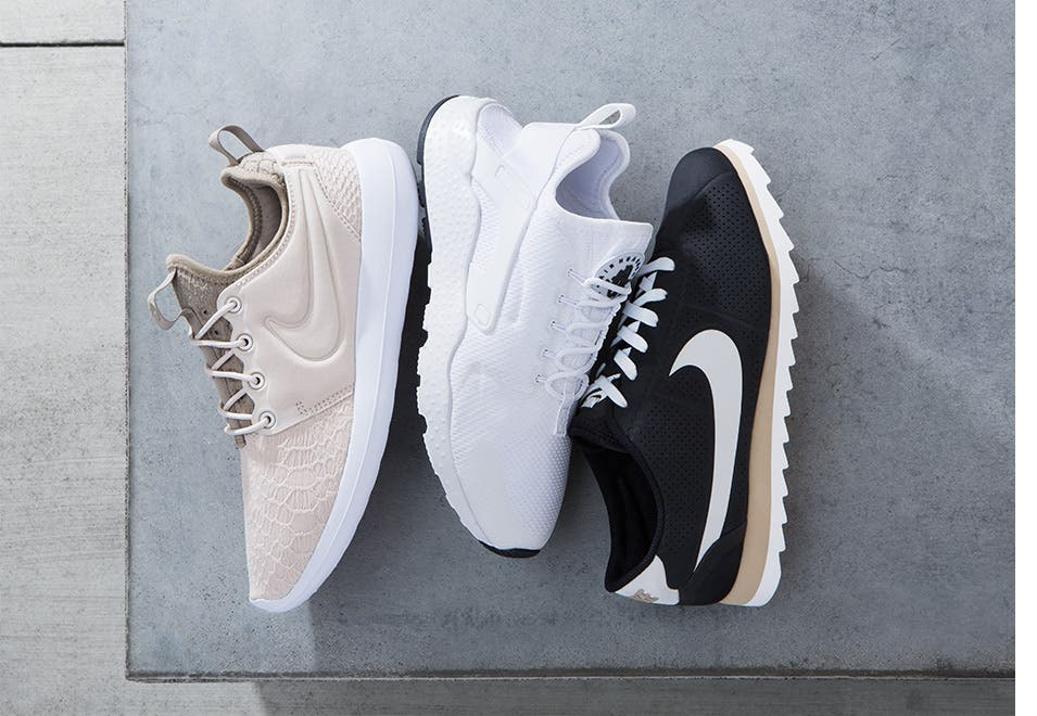 Women's sneakers and athletic shoes from Nike, adidas and more.