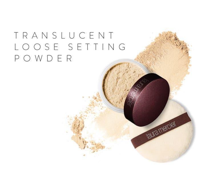 Translucent Loose Setting Powder.