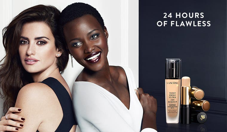 Get 24 hours of flawless with new Lancôme foundation.