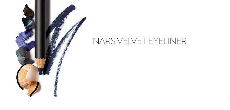Nars velvet eyeliner.