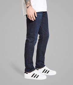 Skinny jeans for men.