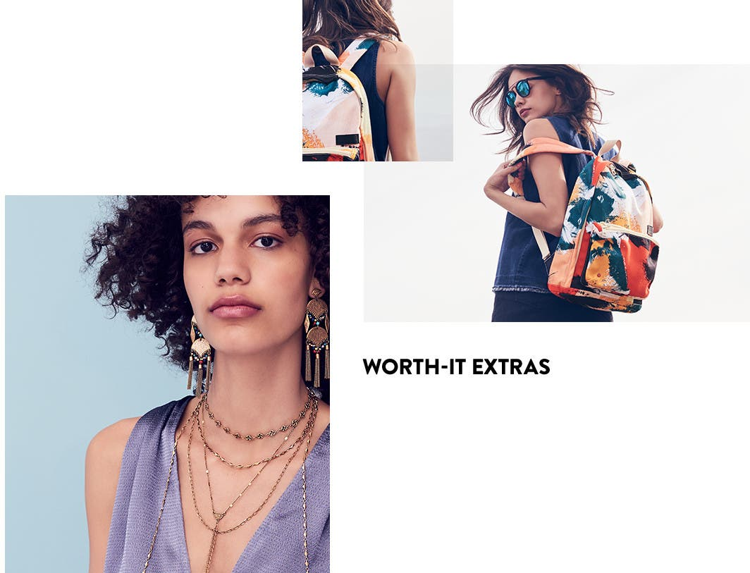 Worth-it extras: vacation accessories.