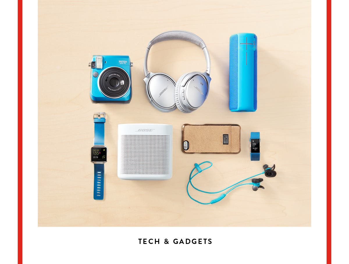 Tech and gadgets.