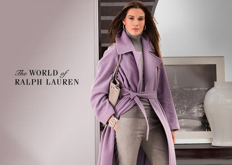 Ralph Lauren clothing, accessories and more.