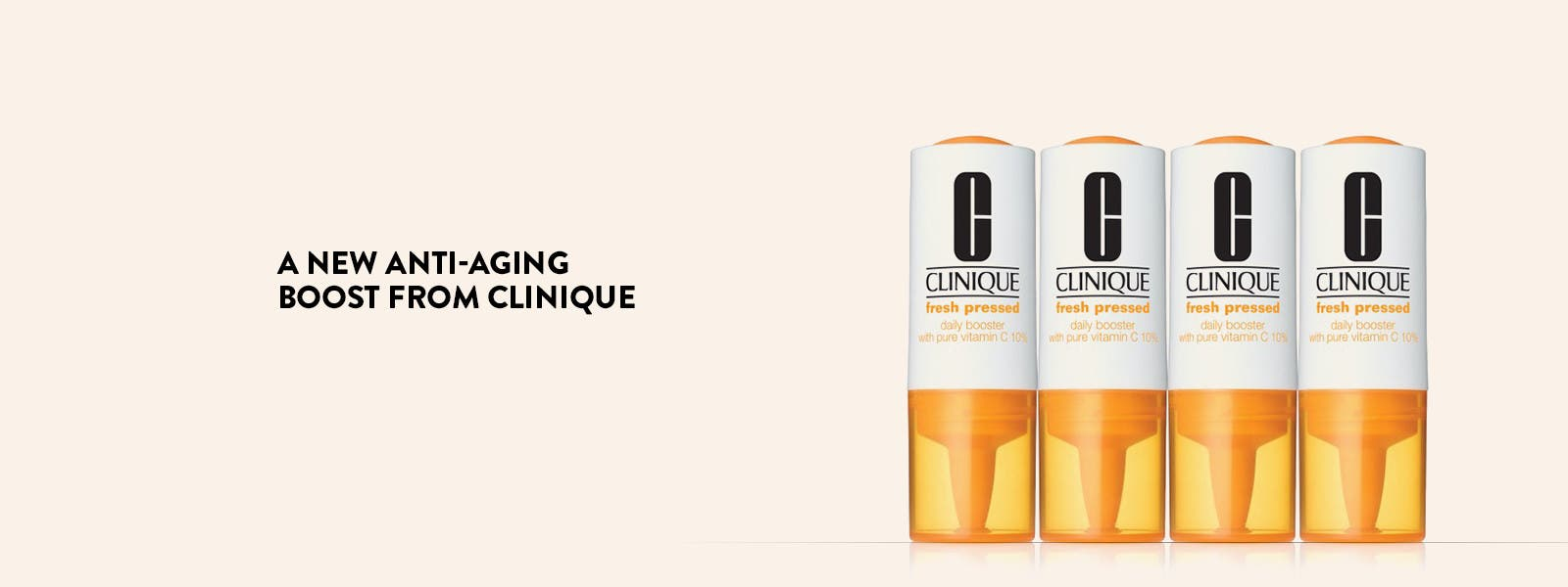 A new anti-aging boost from Clinique.