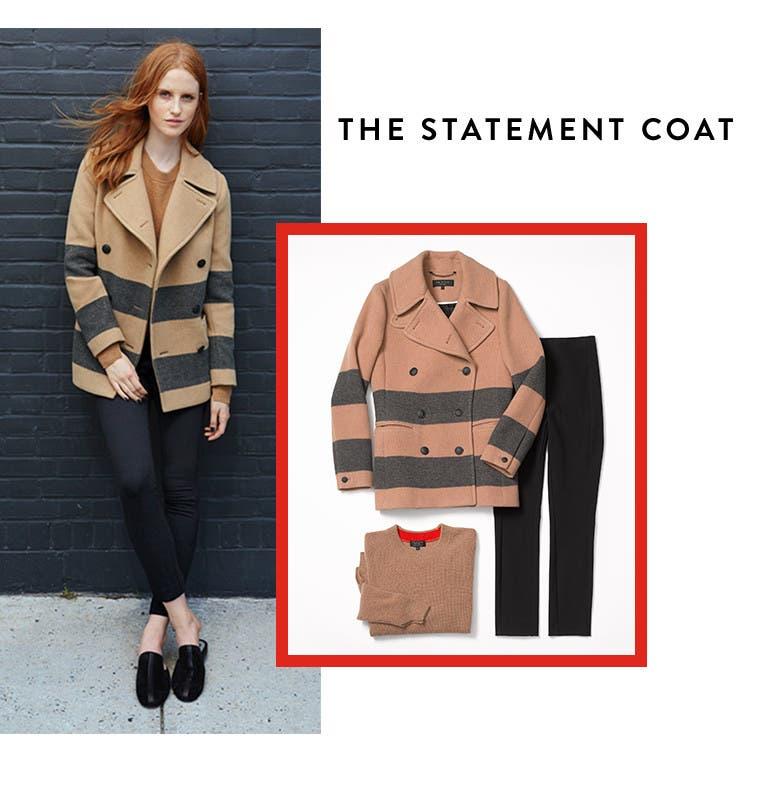 The statement coat.
