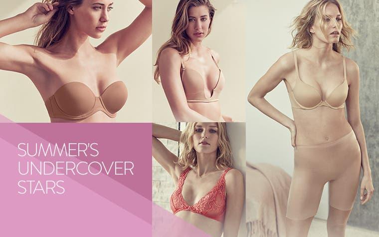 Summer's undercover stars: summer lingerie.
