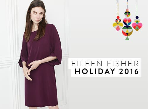 Eileen Fisher holiday 2016.