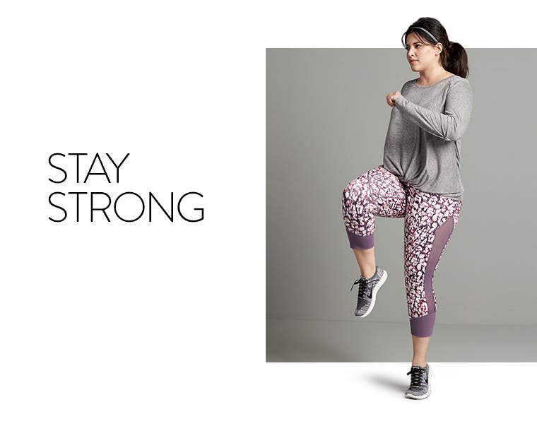 Stay strong in plus-size Zella activewear.