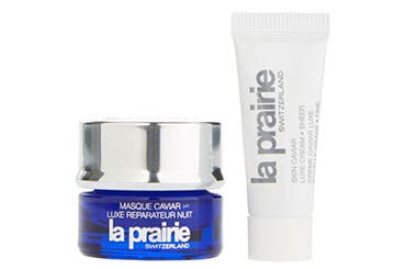 La Prairie gift with purchase.
