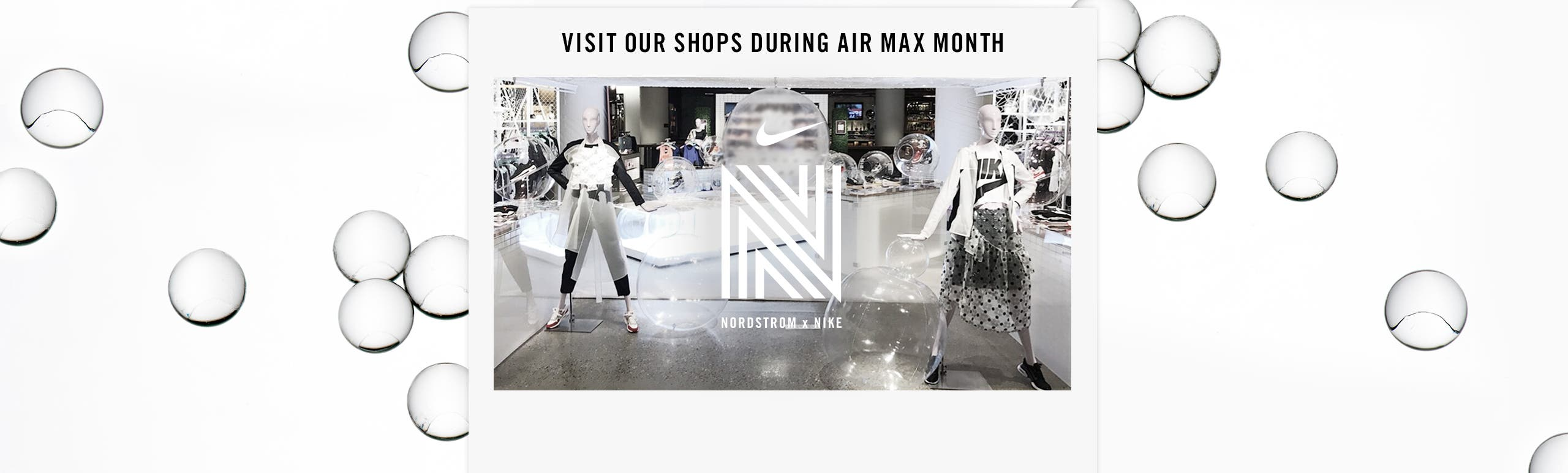 Nike shop-in-shop locations.