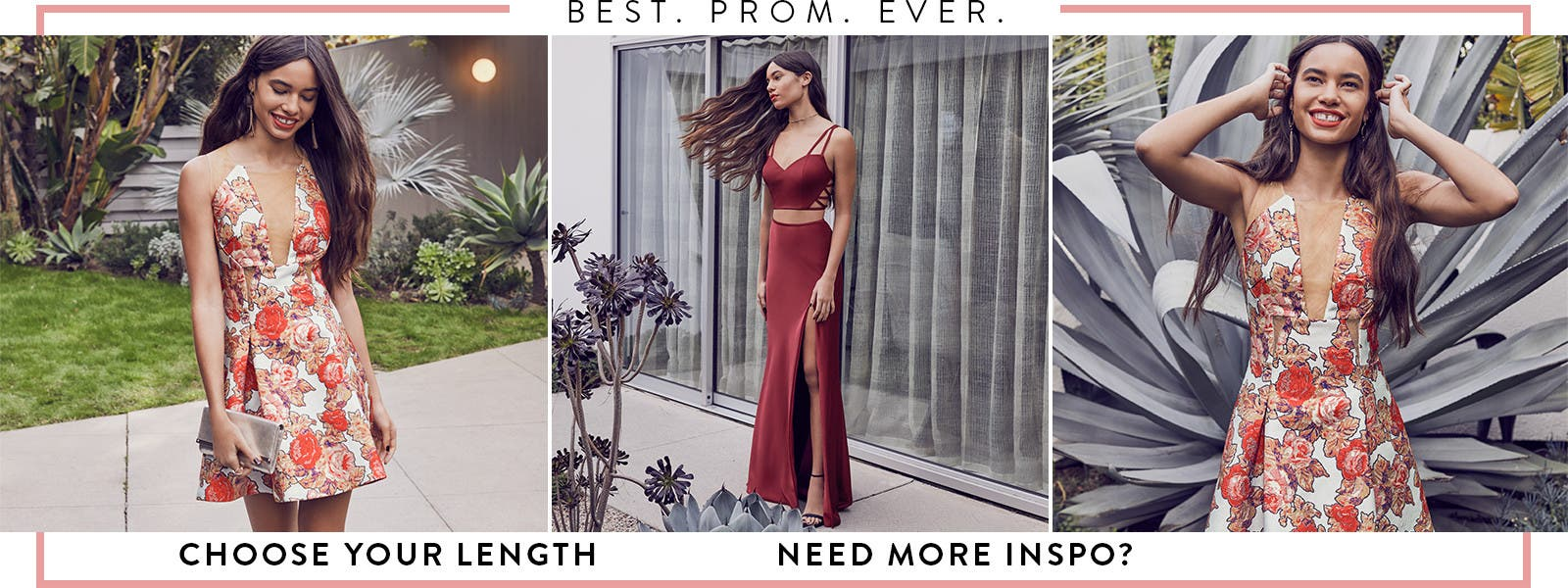 Best prom ever: long and short dresses, prom shoes, accessories and more.