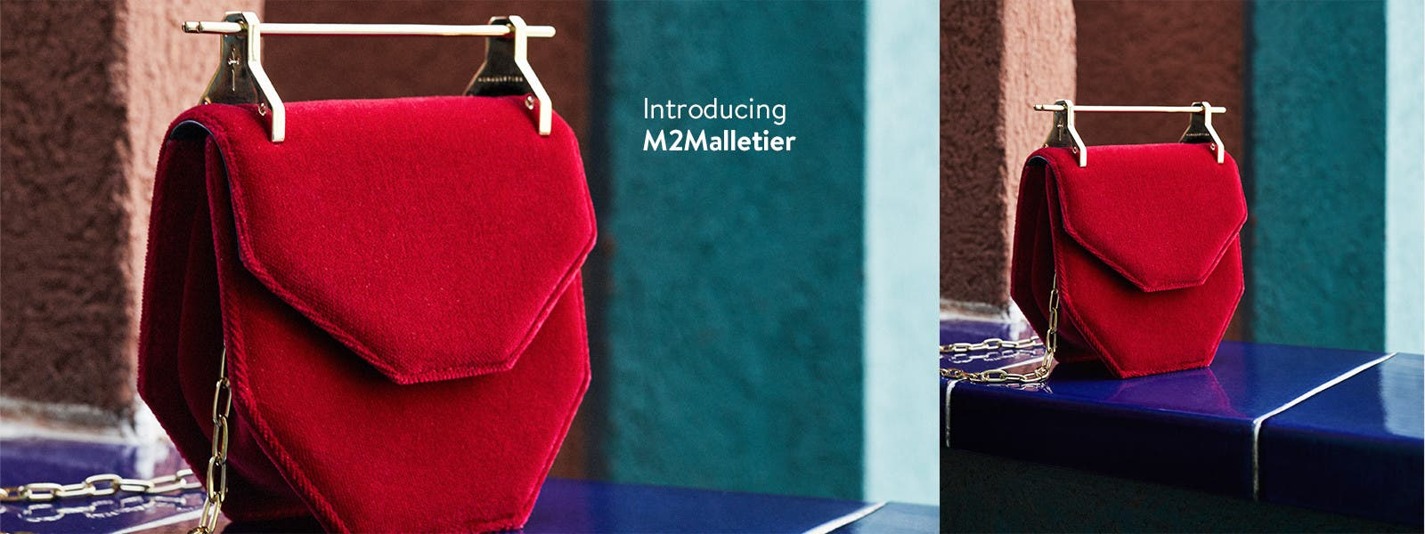 Introducing M2Malletier handbags, online now.