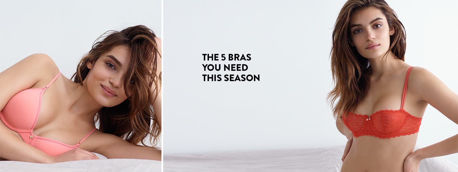 The 5 bras you need this season.