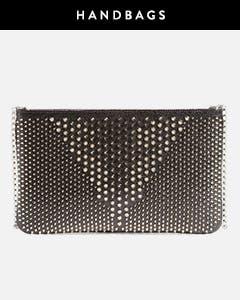 Christian Louboutin handbags.