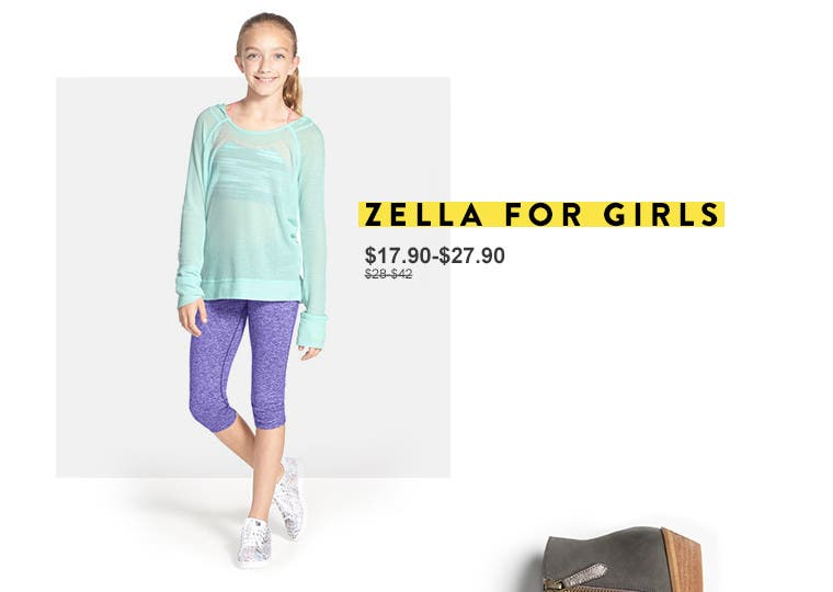Zella for girls.