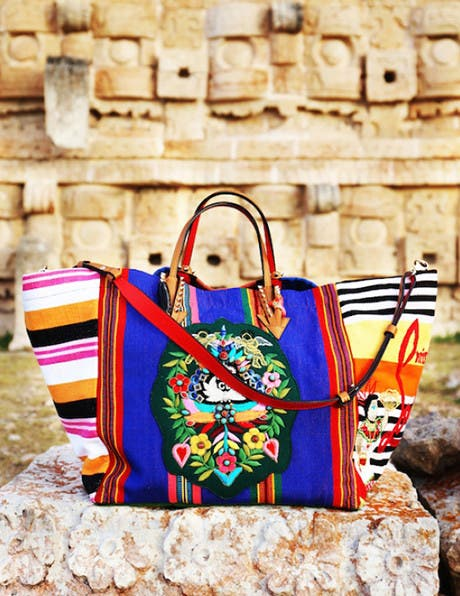 Christian Louboutin's Vacation in Mexico