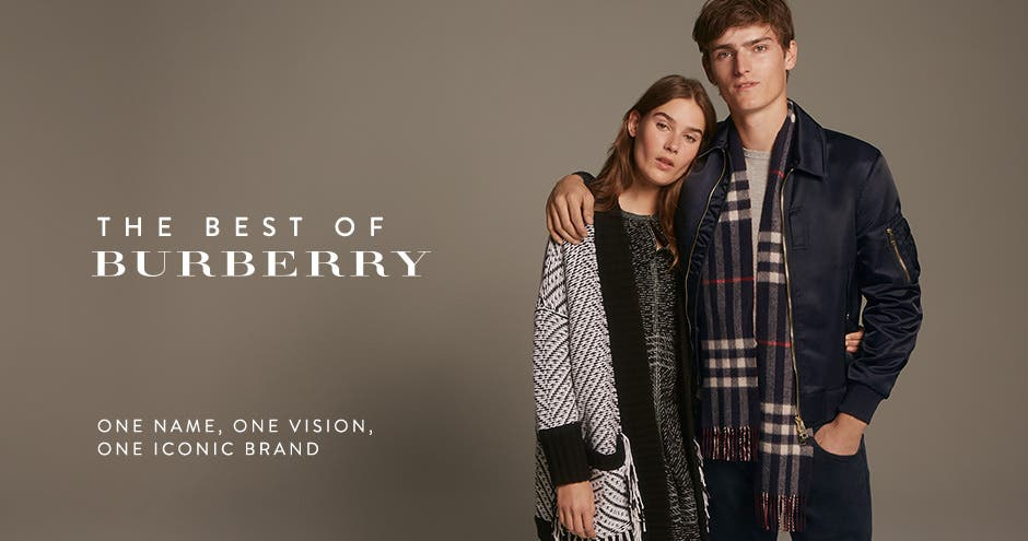 The best of Burberry. One name, one vision, one iconic brand.
