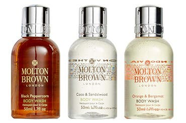 Receive a free 3-piece bonus gift with your $75 Molton Brown purchase